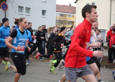 Läufer beim Stadtlauf Schwäbisch Gmünd