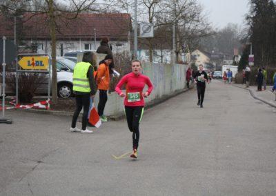 Läuferin beim Gmünder Stadtlauf