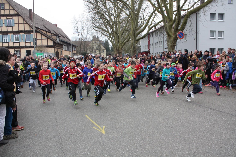Kinderlauf beim Gmünder Stadtlauf Schwäbisch Gmünd