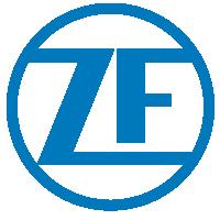 Logo der ZF für den Gmünder Stadtlauf
